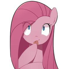 #1005075 - artist:30clock, pinkamena diane pie, pinkie pie, safe, solo, tongue out - Derpibooru - My Little Pony: Friendship is Magic Imageboard