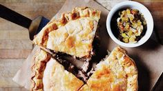 Blizzard food at its best. This buttery crusted pie, filled with rib-sticking pork, will fortify you for any winter's night.