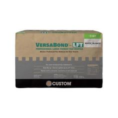 This Custom Building Products VersaBond-LFT White Fortified Medium Bed Mortar is perfect for porcelain, ceramic and natural stone tile. Marble Wall, Ceramic Wall Tiles, Mosaic Tiles, Home Depot, Glazed Ceramic, Porcelain Ceramic, Porcelain Floor, St Moritz, Large Format Tile