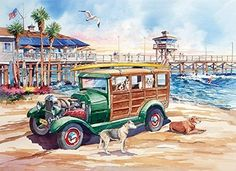 California Dreams: Dog Days of Summer (1000 Piece Puzzle by LPF)