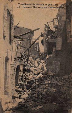 Le tremblement de terre du 11 juin 1909 - Les Amis du Patrimoines de RognesLes Amis du Patrimoines de Rognes