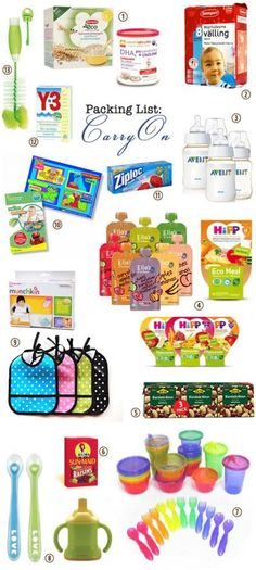 What to pack for a one-year old. Our little one is mostly eating what we eat but we wanted to have some back-up options as well. (toddler lunches 1 year old) Unusual Baby Names, Cool Baby Names, Traveling With Baby, Travel With Kids, Toddler Lunches, Baby Food Recipes, Food Baby, Thing 1, Babies First Year