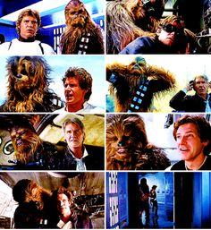 If you hurt chewie, you're gonna deal with me.