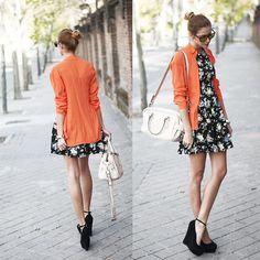 orange + flower