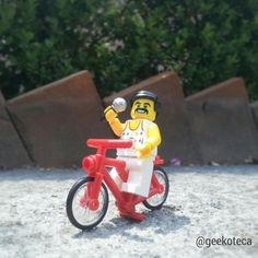 Bycicles, bycicles   Geekoteca Labs   Lego