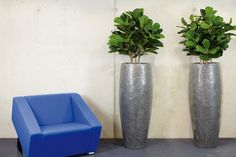 crackle planter supplied by koberg