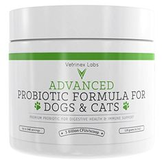 Probiotics for Dogs and Cats with Prebiotic 3 Billion CFU 7 Strains Best Supplement for Relief from Diarrhea Skin Yeast Infections Allergies Gas Itch Bad Breath Stomach 60 Gram * You can get additional details at the image link. Nursing Supplies, Dog Supplies, Probiotics For Dogs, Cat Nutrition, Spinach Nutrition, Yeast Infection Treatment, Best Probiotic, Pet Supplements, Cats For Sale