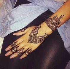 Henna Hand Tattoo <3