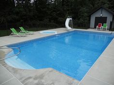 Pool w/ Spill-Over Spa & Auto-Cover - traditional - pool - other metro - by Spartan Pools Inc