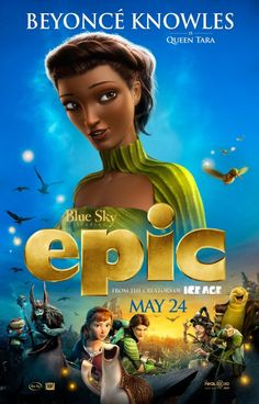 Epic - Beyonce Knowles character movie poster