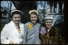 Anonymous Works: Vintage Kodachrome Slides of 1940's America