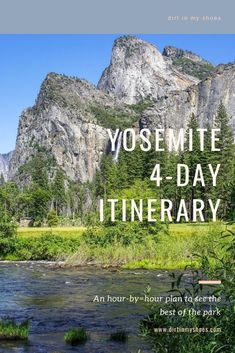 Going to Yosemite National Park with kids? This trip itinerary will make your family vacation fun and easy. You'll experience all the best things to do in Yosemite without all the stress. Have a great trip! Yosemite Vacation, Yosemite Lodging, California National Parks, Yosemite National Park, Hiking With Kids, Best Family Vacations, Bucket Lists, Monuments
