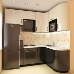 There is no question that designing a new kitchen layout for a large kitchen is much easier than for a small kitchen. A large kitchen provides a designer with adequate space to incorporate many convenient kitchen accessories such as wall ovens, raised. Kitchen Room Design, Big Kitchen, Home Decor Kitchen, Interior Design Kitchen, 10x10 Kitchen, Kitchen Pantry, Kitchen Triangle, Led Stripes, Kitchen Cabinetry