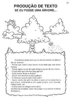 12Desenhos para Imprimir e colorir do Dia da Árvore, Datas Comemorativas Diagram, Words, September 21, Spring, Horse