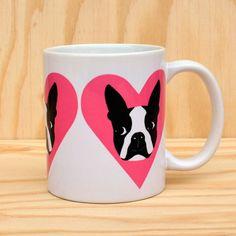 Boston Love Mug by Rock Scissor Paper