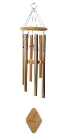 "The breezes around your home will allow the soothing sounds of this 30"" Majesty Bells chime to wake you in the morning, accompany your day, and help you drift off to sleep at night."