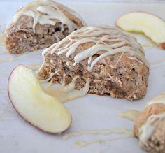 Apple Cinnamon Scones with Maple Glaze Recipe on Yummly