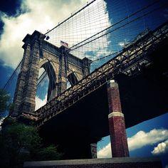 Brooklyn Bridge in New York, NY