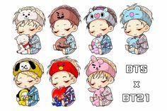 Ngủ thui hihi Chibi Bts, Anime Chibi, Anime Manga, Bts Memes, Fanart Bts, Bts Maknae Line, Kpop Drawings, Bts Lockscreen, Bts Fans