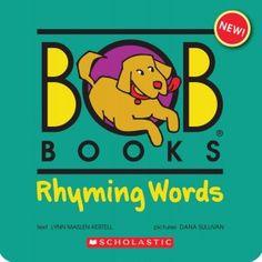 FREE BOB Books Rhyming Words Printables