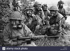 Nato Exercises In Germany, British Army Soldiers In Nbc Suit Stock Photo, Royalty Free Image: 73396876 - Alamy