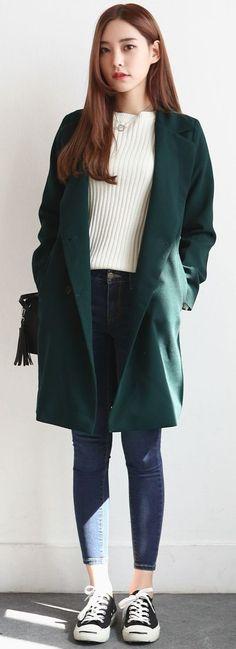 Korean fashion wholesale fashion fashion, korean winter outfits și korean f Korean Winter Outfits, Korean Fashion Fall, Korean Fashion Trends, Korea Fashion, Casual Winter Outfits, Korean Outfits, Mode Outfits, Asian Fashion, Look Fashion