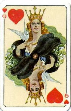 Patience cards from Czechoslovakia design by Artus Scheiner in 1920.