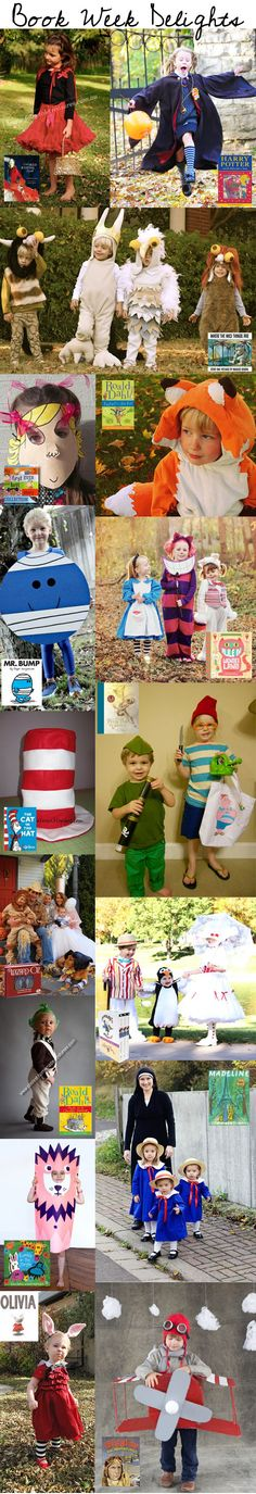 One of the most exciting events on the annual school calendar is the Children's Book Council Book Week. Many schools join in the festivities with Book Week par books, kid halloween costumes, wild thing, group costumes, kid costumes, book week, dress up, costume halloween, 4 kids