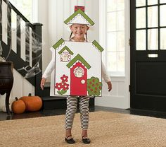 Cardboard House Costume #pbkids  sc 1 st  Pinterest & Alice in Wonderland - Halloween Costume Contest at Costume-Works.com ...
