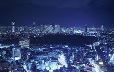 A Luxury Hotel in Tokyo Japan - Cerulean Tower Tokyu Hotel | View from guest rooms
