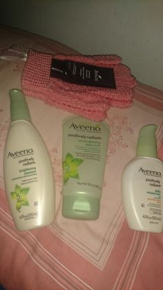 Aveeno positively radiant Is saving my skin