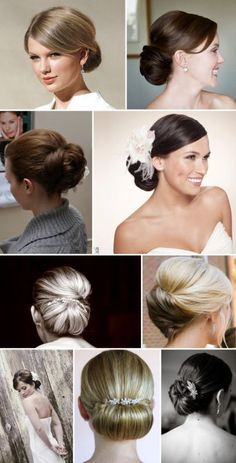 straight straight STRAIGHT hair- what can I do for my wedding day up do? « Weddingbee Boards