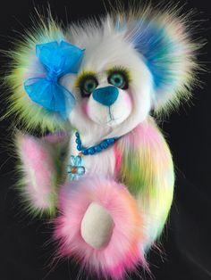 "Meet ""Lucie"" she is my lead bear in the next show: http://bearhugs4u.com/"