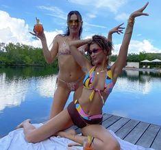 Img Models, Gigi Hadid, Bella Hadid Birthday, Devon Carlson, Devon Lee, Bikini Clad, Summer Birthday, 24th Birthday, Summer Dream