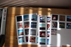 How to print iPhone contact sheets (instagram pics)