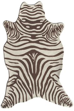 Rug Market Resort Zebra Shaped