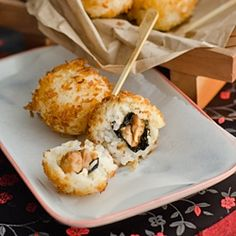 Chicken Teriyaki Sushi Balls