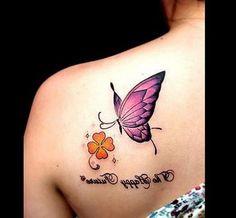 hd most beautiful butterfly tattoos hd tattoos of beautiful flowers Purple Butterfly Tattoo, Butterfly Tattoo On Shoulder, Butterfly Tattoos For Women, Butterfly Tattoo Designs, Hd Tattoos, Bunny Tattoos, Body Art Tattoos, Girl Tattoos, Tatoos