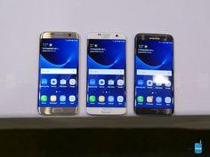 Samsung Galaxy S7 edge hands-on - Samsung Galaxy S7 edge hands-on