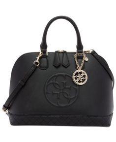 GUESS Korry Dome Satchel - Handbags & Accessories - Macy's