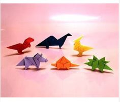 Fine motor skills are in order to create these little dinosaur pasl.