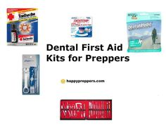 HAVE A DENTAL KIT? Prepper groups have lots of advice about first aid products; and other prepper Web sites discuss specific herbal remedies and medicines to stock; however, many survivalist-type sites altogether neglect to cover the topic of dental emergencies or dental pain! http://www.happypreppers.com/dental-aid.html