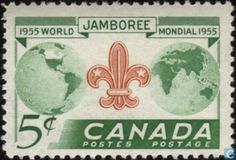 8th world jamboree scouts postage stamps