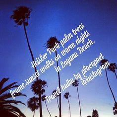 Happy Friday walks! #tgif_sunset #visitcalifornia #visitorangecounty #visitsoutherncalifornia #visitlaguna #MyLagunaBeach #travelhaikuoftheday