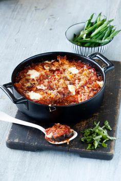 Melanzane alla parmigiana   Maku Easy Cooking, Cooking Recipes, Healthy Recipes, Healthy Food, I Love Food, Good Food, Salty Foods, Vegetable Dishes, Wine Recipes