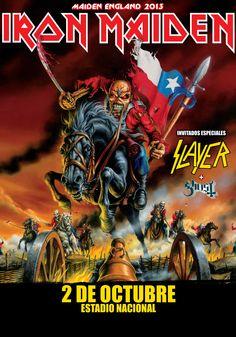 Iron Maiden + Slayer + Ghost- 02 de octubre - Estadio Nacional