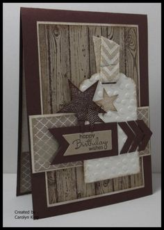 Cute card.. good idea for father's day or male birthday.. not too many good masculine card ideas out there