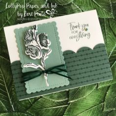Color Contour, Handmade Thank You Cards, Stampin Up Catalog, Stamping Up Cards, Card Sketches, Creative Cards, Flower Cards, Homemade Cards, Making Ideas