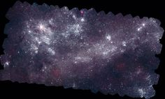 Where are the hottest stars in the nearest galaxies? To help find out, NASA commissioned its Earth-orbiting Swift satellite to compile a multi-image mosaic of the neighboring Large Magellanic Cloud (LMC) galaxy in ultraviolet light. The above image shows where recently formed stars occur in the LMC, as the most massive of these young stars shine brightly in blue and ultraviolet.