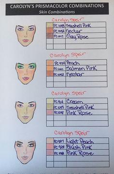 Skin Tones Study by MurphAinmire on DeviantArt Prismacolor, Copics, Colored Pencil Tutorial, Colored Pencil Techniques, Coloring Tips, Coloring Books, Drawing Tips, Drawing Techniques, Drawing Art